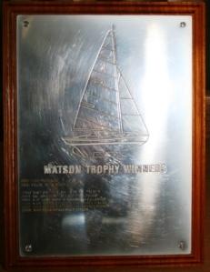 Matson Trophy detail