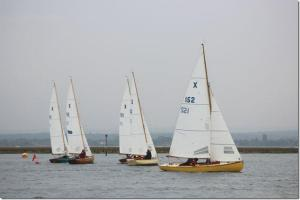 Start of the Vernon Cup race to Sea View - Sunday September 29th Photograph Veronica Ferguson