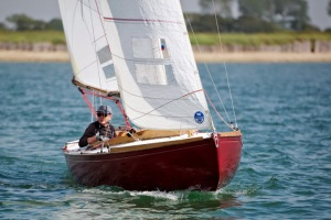 X26 Catherine sailed by Colin McKinnon by Mary Pudney